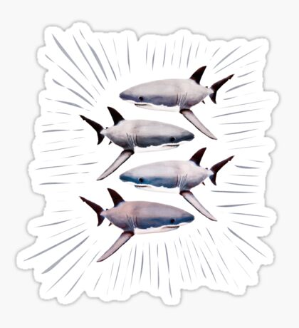 GREATWHITE Sticker
