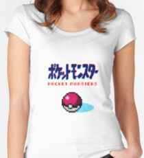 Pocket Monsters Women's Fitted Scoop T-Shirt