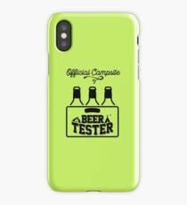 Beer Tester iPhone Case/Skin