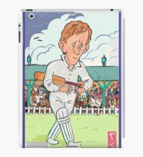 Andrew Hudson cricketer iPad Case/Skin