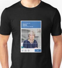 reCAPTCHA -- Theresa May T-Shirt
