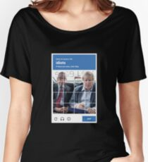 reCAPTCHA -- Michael Gove & Boris Johnson Women's Relaxed Fit T-Shirt