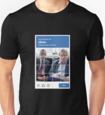 reCAPTCHA -- Michael Gove & Boris Johnson T-Shirt