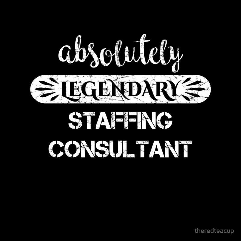 "Absolutely Legendary Staffing Consultant "" Spiral Notebooks by ..."