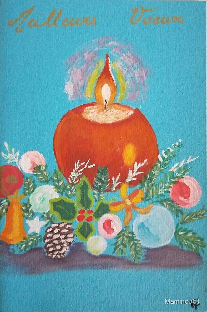 « Bougie de Noël » par Maminou61