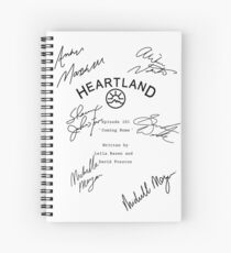 Heartland Script Spiral Notebook