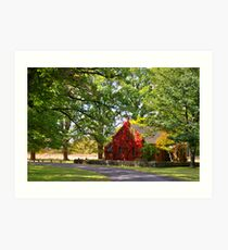 Gostwyck Church Art Print