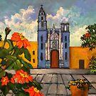Blue Church/Iglesia Azul by Randy Burns