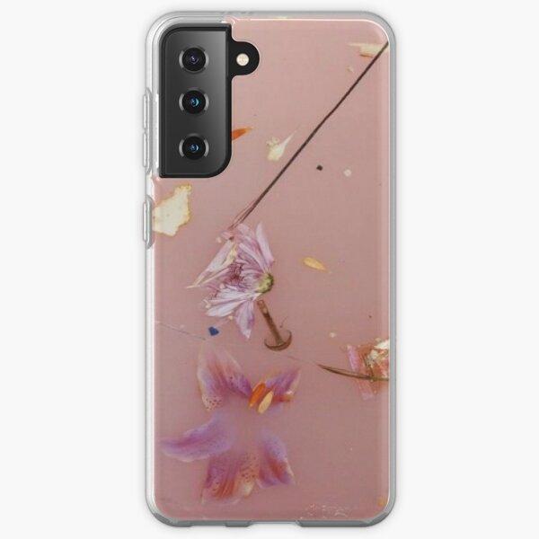 Flores rosadas Funda blanda para Samsung Galaxy