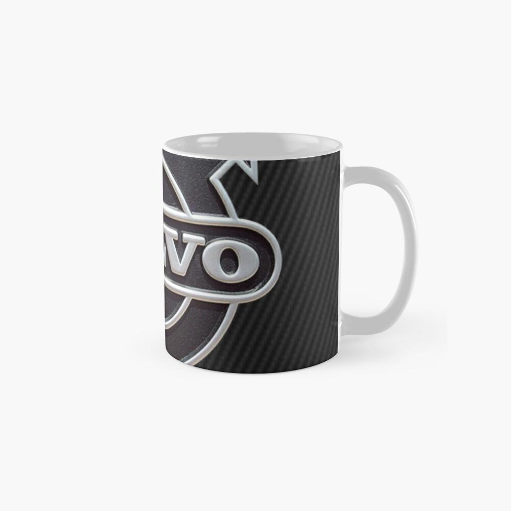 Carbon Volvo Logo Tassen