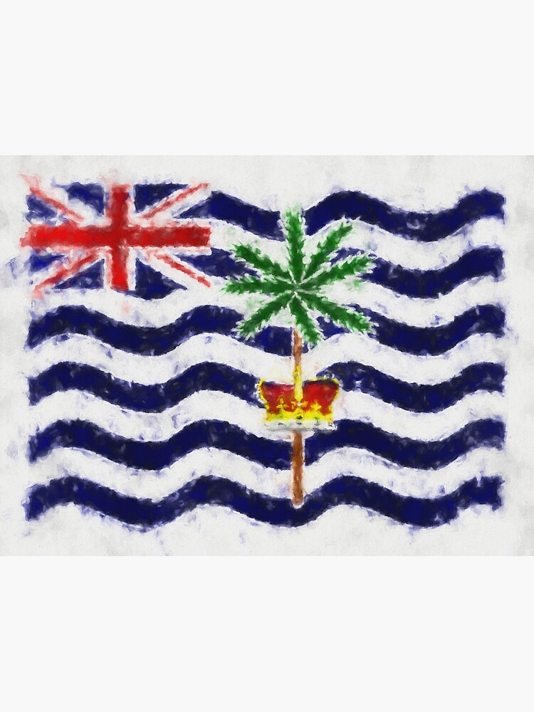 British Indian Ocean Territory Flag Reworked No. 66, Series 5 by 8th-and-f