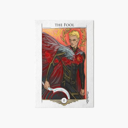 r0-Fool Art Board Print