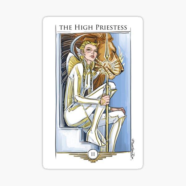 r2-High Priestess Sticker