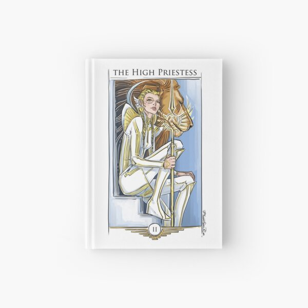 r2-High Priestess Hardcover Journal