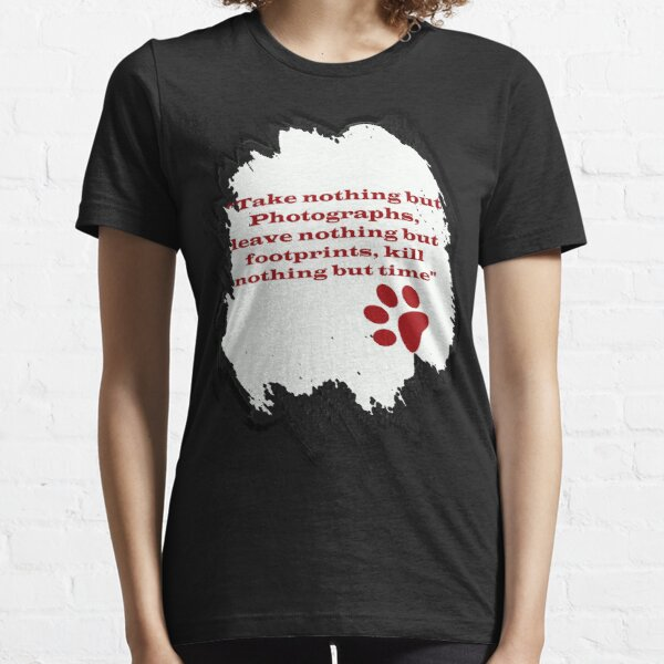 Leave Footprints Essential T-Shirt