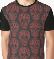 red skull  Graphic T-Shirt