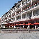 Hotel Streetscape - Neuremburg by chijude
