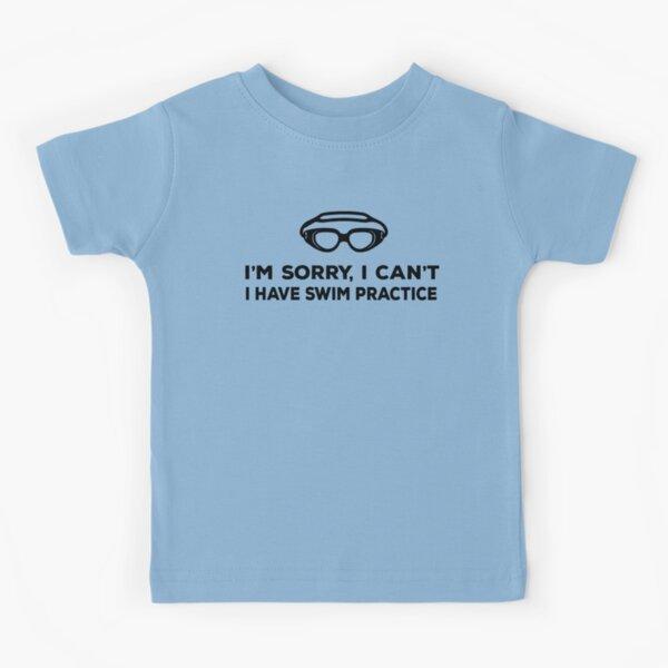 Swim Practice Kids T-Shirt