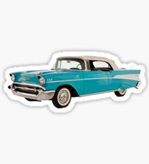Vintage Chevrolet Blue | Cars Sticker