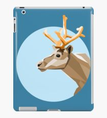 Geometric Reindeer iPad Case/Skin