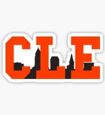 CLE Skyline - Browns Sticker