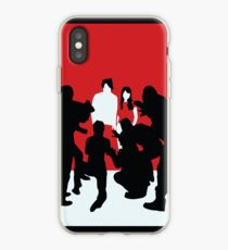 White Blood Cells iPhone Case