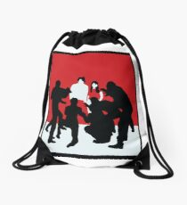 White Blood Cells Drawstring Bag