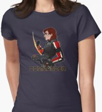 Commander Jane Shepard Women's Fitted T-Shirt