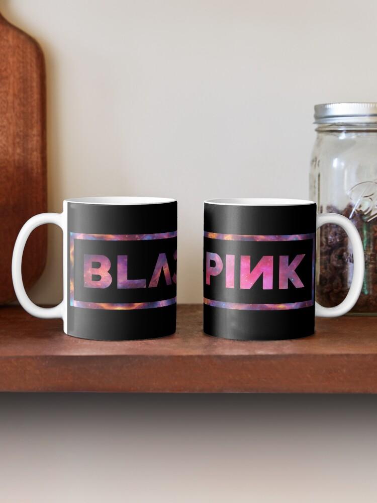 Alternate view of Black Pink Nebula Mug