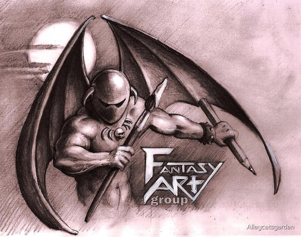 Fantasy Art Group logo design by Alleycatsgarden