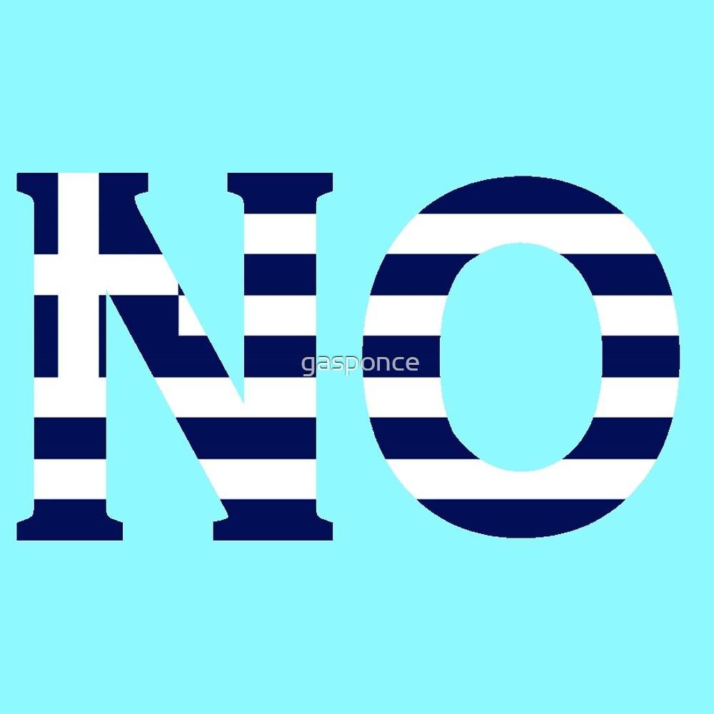 N O by gasponce
