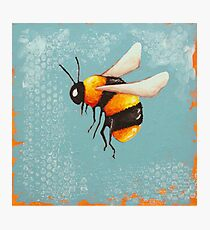 Bee Painting three Photographic Print