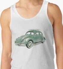 Green Beetle VW   Cars Tank Top
