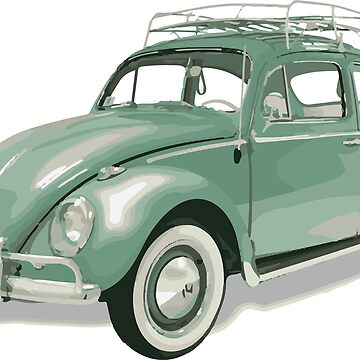 Green Beetle VW | Cars by koovox
