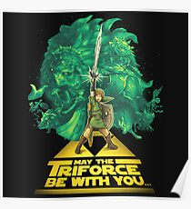 May the Triforce be with you Poster