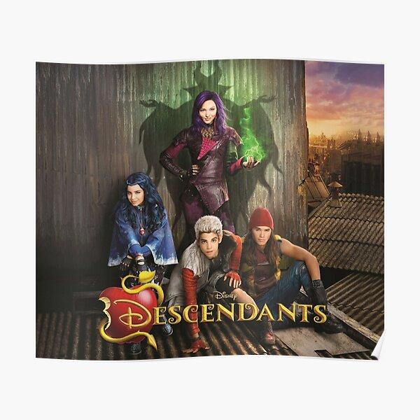 Descendants TV Show D3 Poster