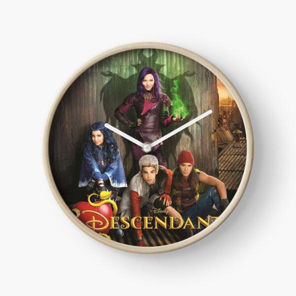 Descendants TV Show D3 Clock