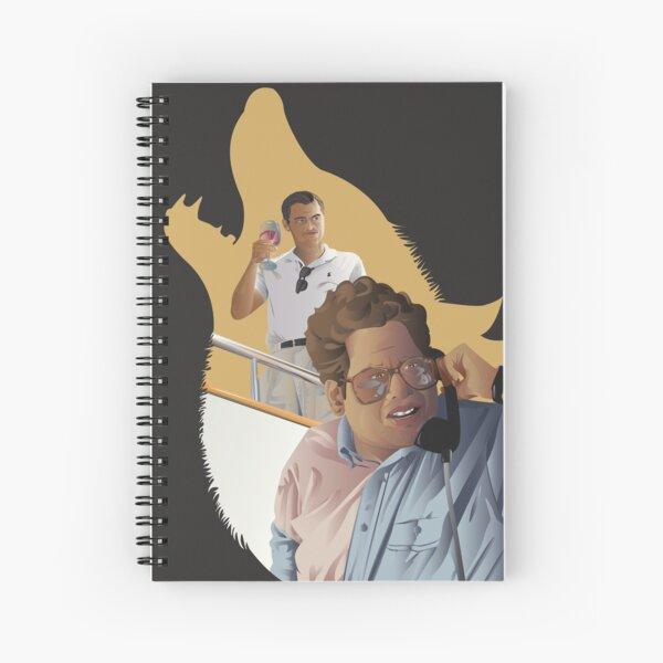 Wolf of Wallstreet Spiral Notebook