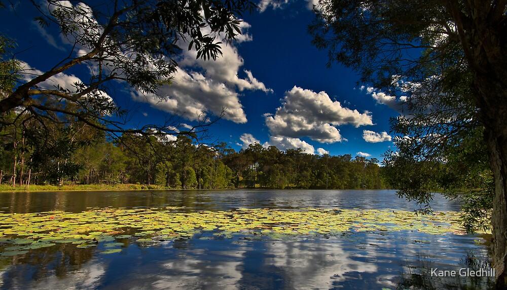 Mount Cotton Lake by Kane Gledhill