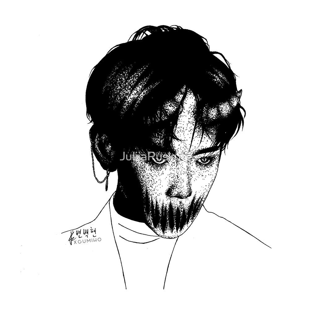 Monster inspired Byun Baekhyun by JulijaRuskute