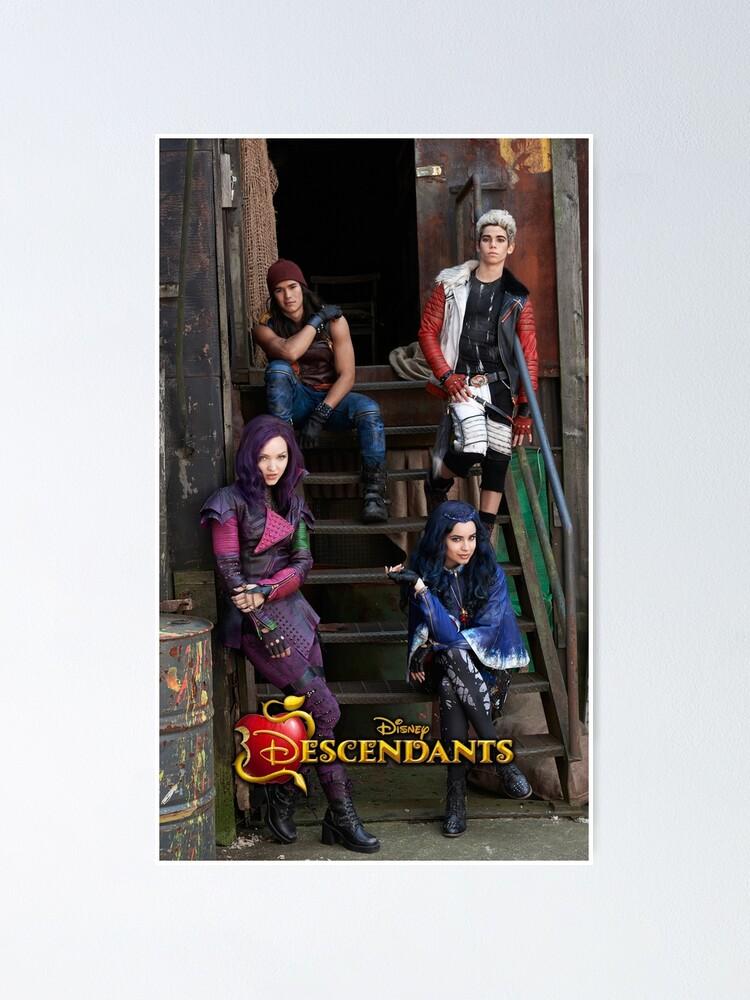 Alternate view of Descendants Poster