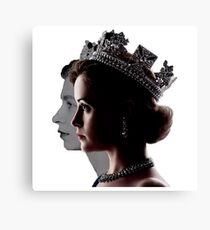 Elizabeth II Canvas Print