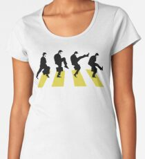 Ministry of Silly walk | Cult tv  Best of British | Monty Python Women's Premium T-Shirt