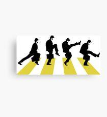 Ministry of Silly walk   Cult tv  Best of British   Monty Python Canvas Print
