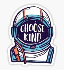 Wähle Kind Wonder Sticker