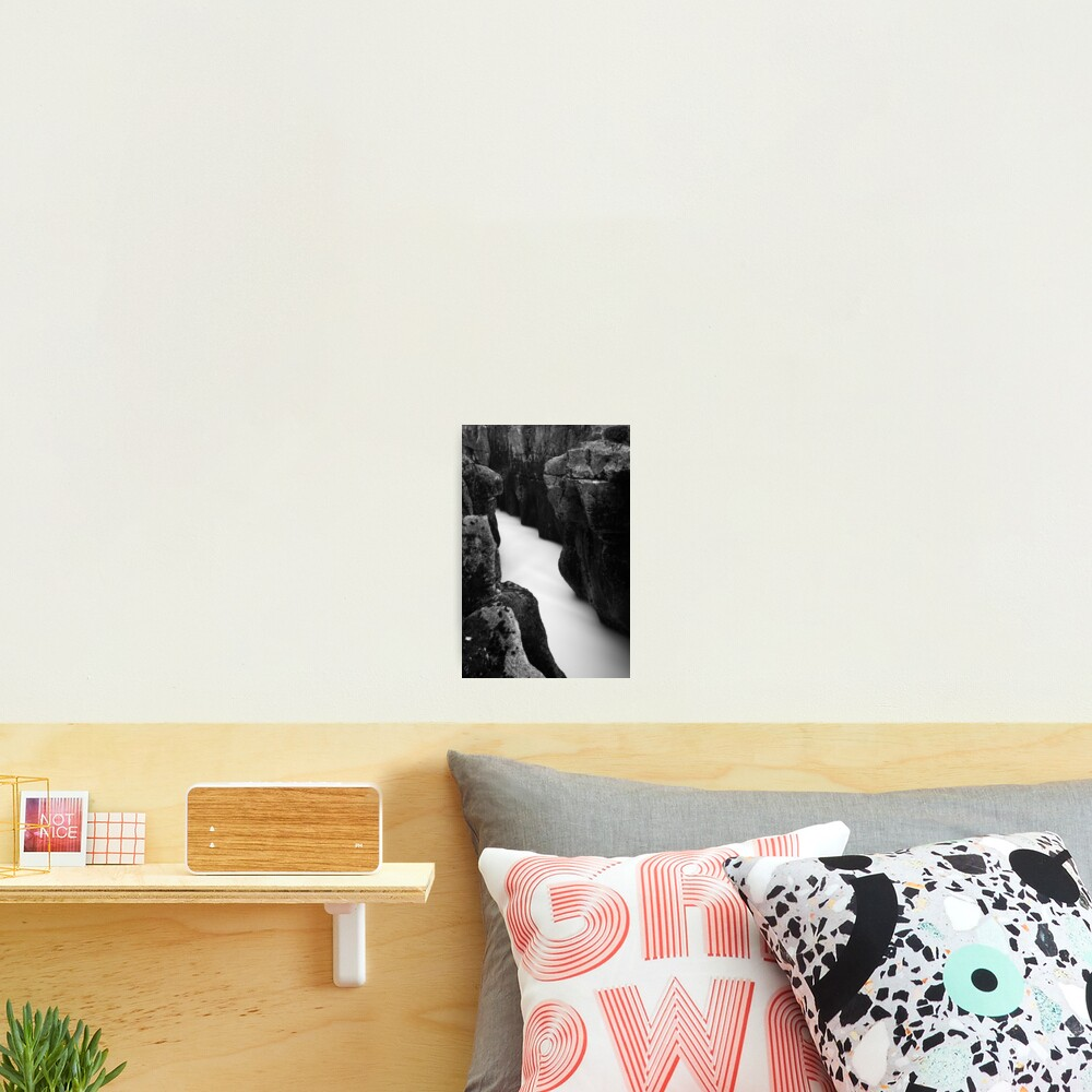 Whyte water Photographic Print