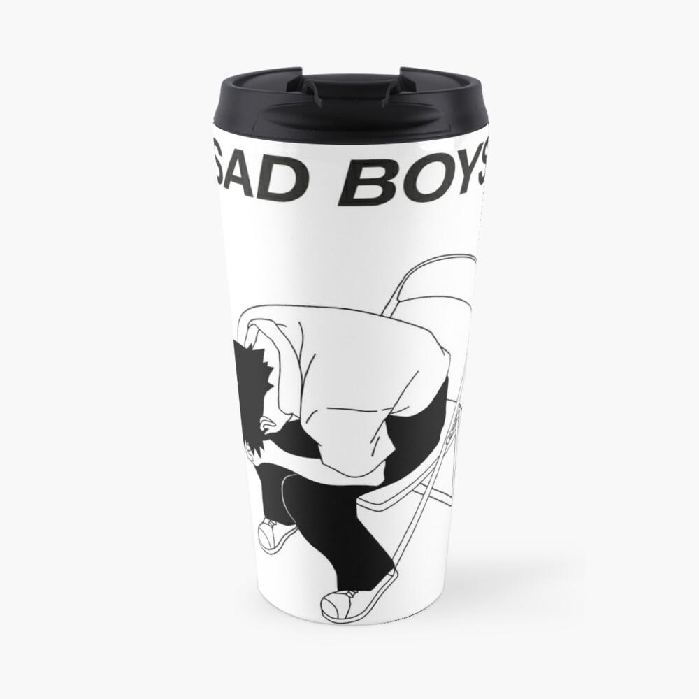 Sad boy Travel Mug