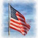 American Flag by Kerri Farley