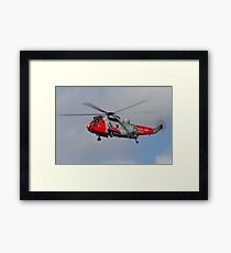 Search and Rescue - SeaKing Framed Print