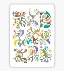 jubilee white Sticker